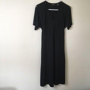 New York and company black dress M